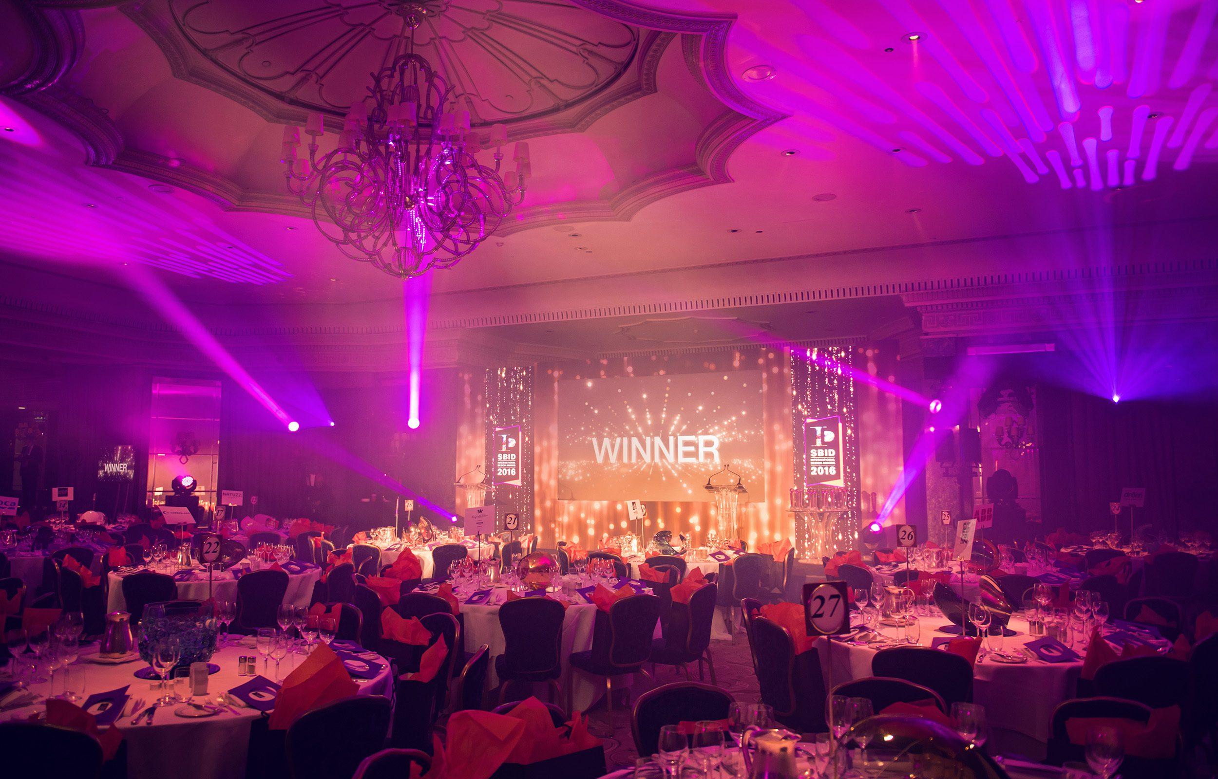 SBID awards ceremony | Perception Events