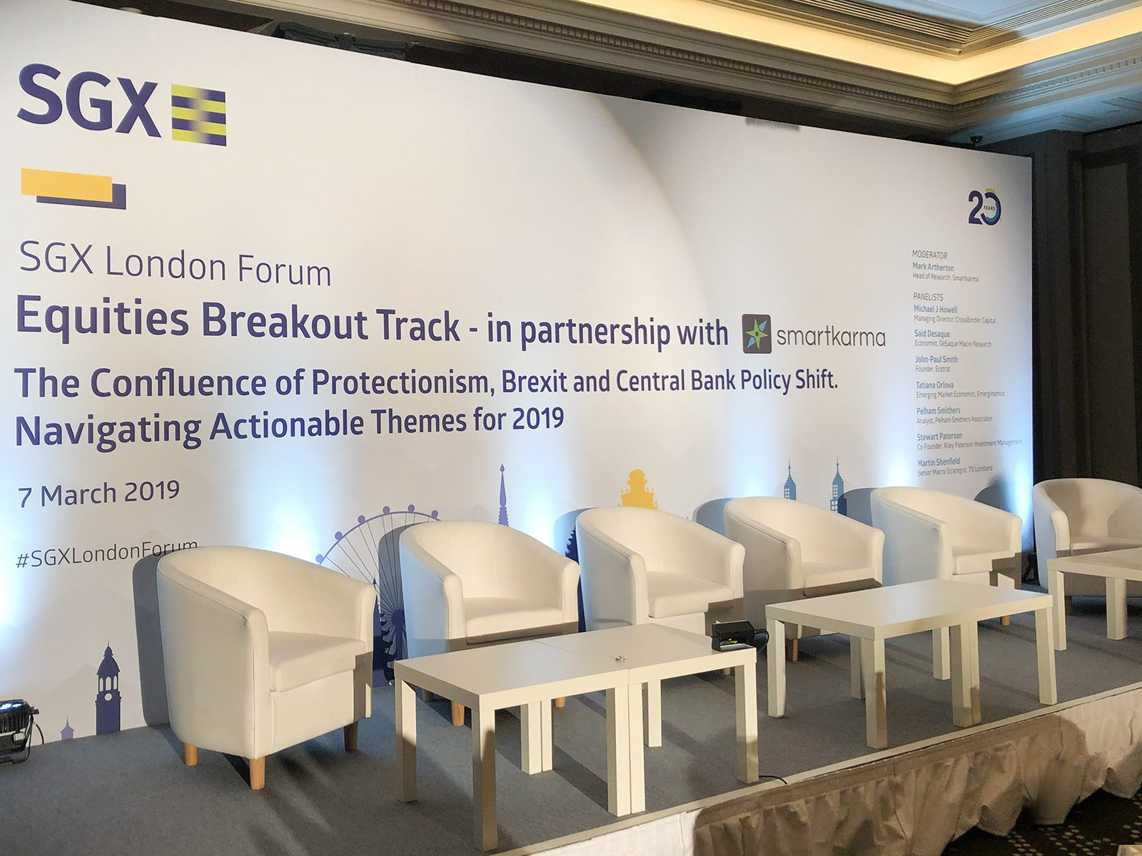 SGX Conference 2019 London