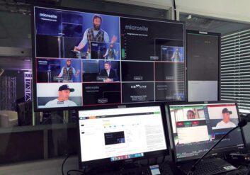 Studio Hire - Control Room - Perception Live